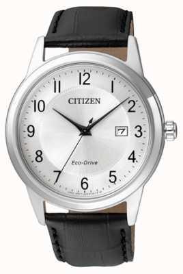 Citizen Mens Eco-Drive-schwarzes Lederarmband AW1231-07A