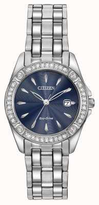 Citizen Damen Eco-Drive Silhouette Kristall Fall EW2350-54L
