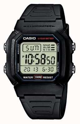 Casio Sportartikel-Alarm-Chronograph W-800H-1AVES