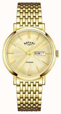 Rotary Herren-Gold vergoldet Wahl GB05303/03
