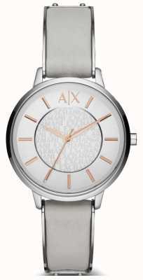 Armani Exchange Damen olivia Lederband Uhr AX5311