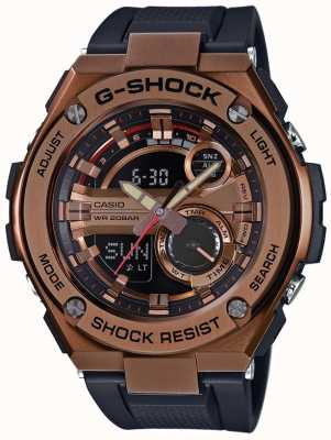Casio G-Stahl g-shock vergoldet Fall GST-210B-4AER
