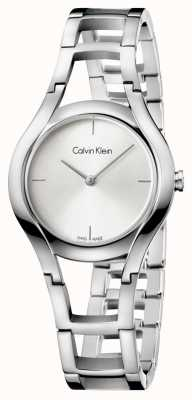 Calvin Klein Damen-Klasse versilbert K6R23126