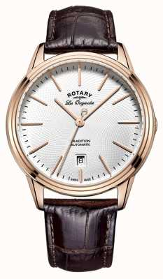 Rotary Mens les originales Tradition braunem Leder GS90164/02