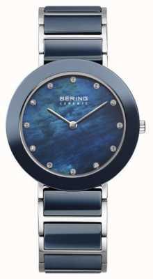 Bering Womans Marine Metallband Marine Wahl 11435-787