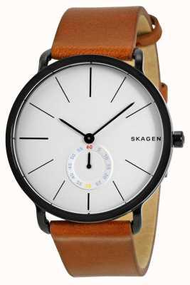 Skagen Herren Lederband Uhr Hagen SKW6216