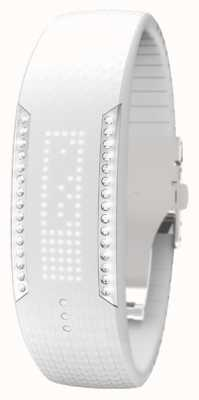 Polar Unisex-Schleife 2 Swarovski Kristall-Weiß-Aktivitäts-Tracker 90057756