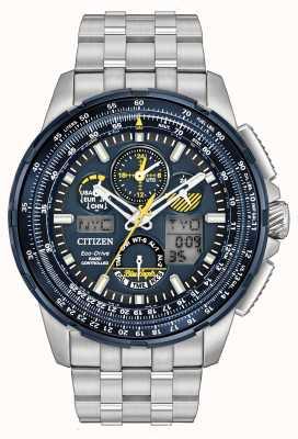 Citizen Skyhawk an der blauen Engel Funk JY8058-50L