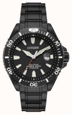 Citizen Royal Marines limitierte Auflage 300m ionenplattiertes Titan BN0149-57EE