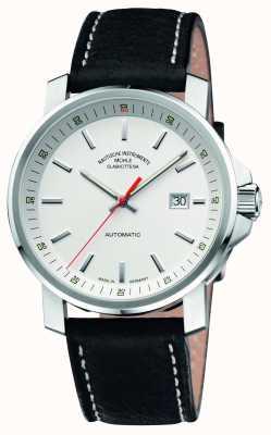 Muhle Glashutte 29er großen Lederband weißes Zifferblatt M1-25-31-LB