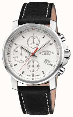 Muhle Glashutte 29er Chronograph Lederband weißes Zifferblatt M1-25-41-LB