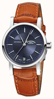 Muhle Glashutte Teutonia ii mittlere automatische Uhr M1-30-22-LB