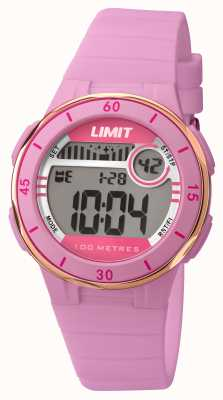 Limit Womans rosa Band Digital-Dial 5557.24