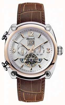 Ingersoll Herren 1892 das Michigan braunes Lederband I01103