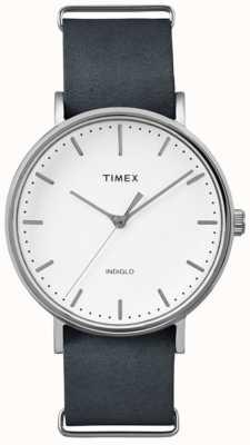 Timex Unisex weekender fairfield weißes Zifferblatt TW2P91300