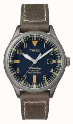Timex Unisex der waterbury Marine wählen braun Gurt TW2P84400