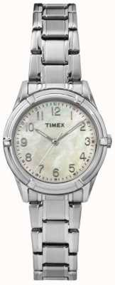 Timex Womans easton avenue Perlmutt-Zifferblatt Stahlband TW2P76000