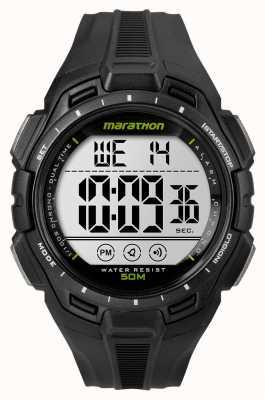 Timex Mens Eisenmann Marathon Alarm schwarz TW5K94800