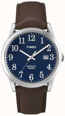 Timex Herren blaues Zifferblatt einfacher Leser TW2P75900