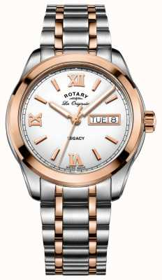Rotary Mens Ton zwei Legacy-Uhr GB90175/06