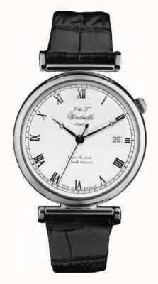 J&T Windmills Mens bartholomew mechanische Uhr Sterlingsilber WGS10000/08