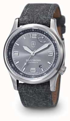 Elliot Brown Tyneham-graues Armband mit grauem Armband und grauem Zifferblatt 305-D02-F01