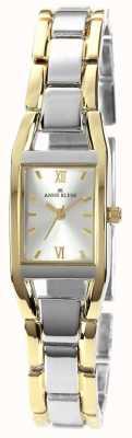 Anne Klein Womens zwei Ton Armband Silber Zifferblatt 10/N6419SVTT