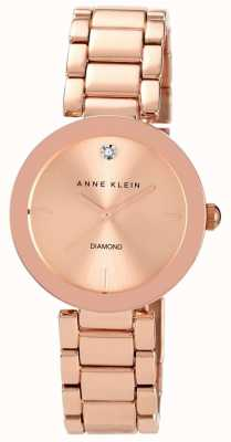 Anne Klein Frauen Roségold Tone Armband Roségold Zifferblatt AK/N1362RGRG