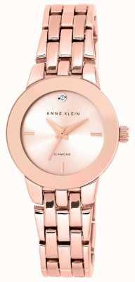 Anne Klein Frauen Roségold Tone Armband Roségold Zifferblatt AK/N1930RGRG