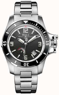 Ball Watch Company Mens Limited Edition Ingenieur Kohlenwasserstoff Hunley automatisch PM2096B-S1J-BK