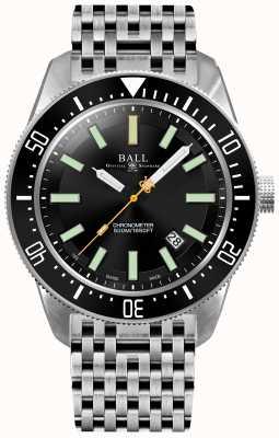 Ball Watch Company Mens Ingenieur Master ii Skindiver ii Automatik Chronometer DM3108A-SCJ-BK