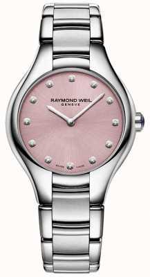 Raymond Weil Womans noemia 12 Diamant-rosa 5132-ST-80081