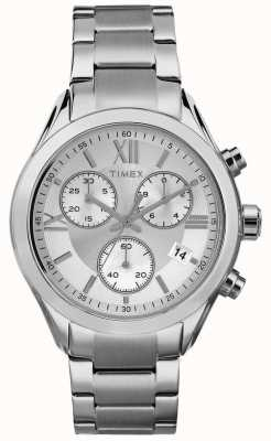 Timex Womans miami Chronograph Silber Ton TW2P93600
