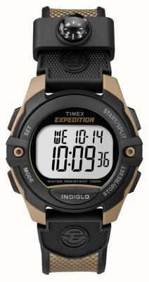 Timex Mens Expedition Chronograph Alarm Timer braun TW4B07800