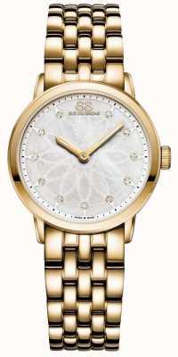 88 Rue du Rhone Double 8 Herkunft Damen Gold Diamant 87WA152901