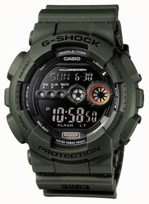 Casio Limitierte Edition g-shock grün GD-100MS-3ER