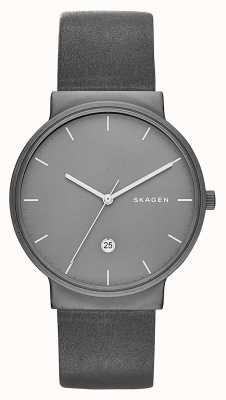 Skagen Ancher Titan & Leder Uhr SKW6320