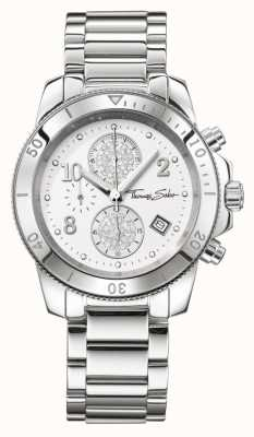 Thomas Sabo Damen Glam Chic Silber chrono WA0190-201-202-40