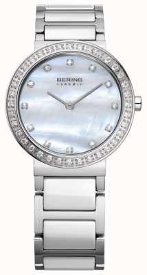 Bering Damen Edelstahl Silber 10729-704