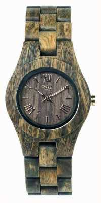 WeWood Frauen criss Armee Holzband 70210100