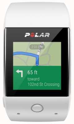 Polar M600 weiße Android-Smartwatch tragen 90062397