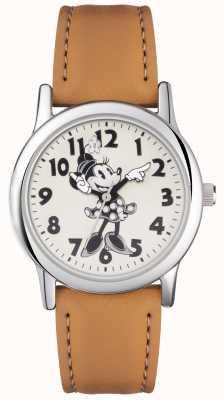 Disney Adult Minnie Maus Silber Tasche Tan Gurt MN1550