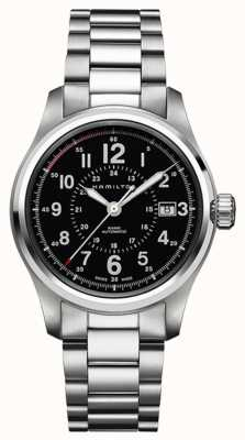 Hamilton Herren khaki Feld Auto 40mm Swiss Made H70595133