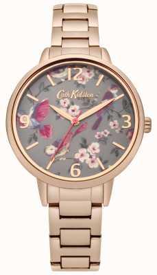 Cath Kidston Damen britische Vögel Rose Goldarmband CKL001RGM