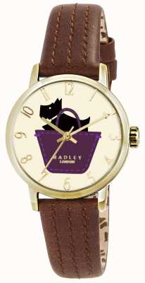 Radley Border Uhr mit tan Lederarmband RY2290