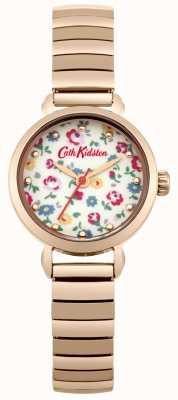 Cath Kidston Rose Gold Expander mit Foto gedruckt Wahl CKL016RGM