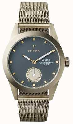Triwa Womans Asche aska Gold Maschen AKST103-MS121717