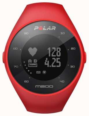 Polar Unisex rot m200 g / m² Handgelenk hr 90061217