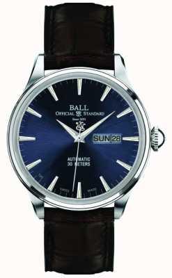 Ball Watch Company Ewigkeit blauen Zifferblatt Zugmaster NM2080D-LJ-BE