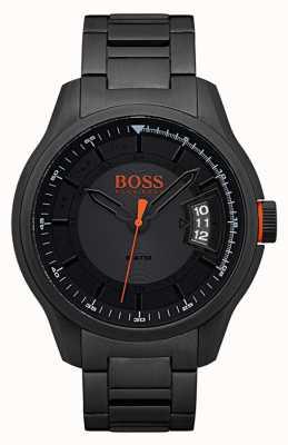 Hugo Boss Orange Hong kong schwarz Edelstahluhr 1550005